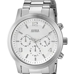 Guess Chrono Stainless Steel Men's Watch U13577G1
